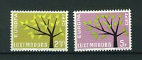 Luxembourg 1962 Europa full set of stamps. MNH. Sg 707-708