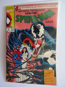 Spider-Man Saga #4 - Marvel Comics 1991