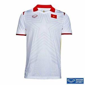 100% Authentic 2021 Vietnam National Football Soccer Team Jersey Shirt White