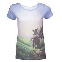 The Legend of Zelda Ladies T-Shirt Ocarina of Time Size XL Bioworld shirts