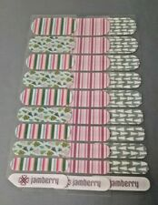 1139 Jamberry Seconds: Christmas & Winter: 3 half sheet: Tinsel Time lot