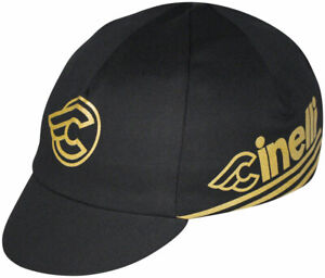 Pace Sportswear Cinelli Cycling Cap - Gold, One Size