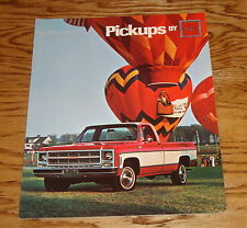 Original 1979 GMC Pickup Truck Sales Brochure 79