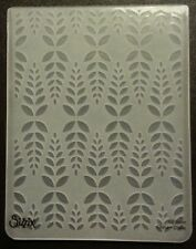 Sizzix Large Embossing Folder LEAF LEAVES #3 fits Big Shot Cuttlebug 4.5x5.75in