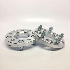 2pcs 15mm Wheel Spacers | 5x4.5 to 5x4.5 | 12x1.5 Studs | Fits Evo 8 9 10