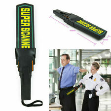 Adjustable Sensitivity Metal Detector Security Scanner Wand w/ Belt 410x85x45mm