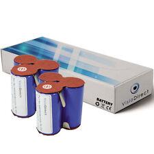 Lot de 2 batteries 3.6V 2000mAh pour AEG Elektrolux Junior 2.0 Type 141