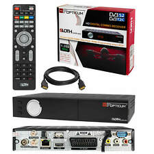Combo HDTV dvb-t2 dvbs 2 Sloth plus opticum sat cable terrestre h.265 Receiver