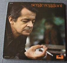 Serge Reggiani, rupture, LP - 33 Tours