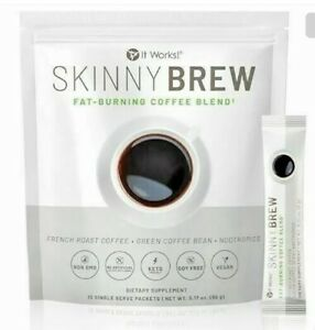 It Works Skinny Coffee Brew Sealed Bag include 15 pcs FREE SHIPPING .