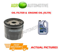 BIO PETROL OIL FILTER + C1 5W30 ENGINE OIL FOR VOLVO V70 1.6 179 BHP 2011-