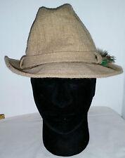 Vintage Stetson Wool Irish Walking Cap Style Fedora Trilby