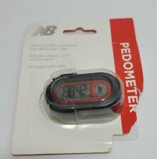 New Balance Pedometer Belt Clip Track Steps, Time Calories & Distance Free Ship