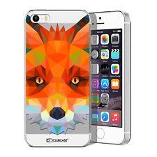 Coque Housse Etui Pour iPhone 5 / 5S / SE Polygon Animal Rigide Fin  Renard