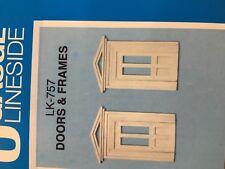 Peco LK-757 O Gauge Doors & Frames