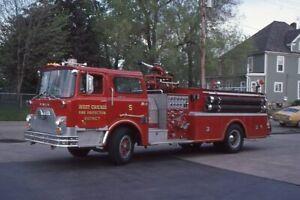 West Chicago IL Engine 5 1971 Mack CF Pumper - Fire Apparatus Slide