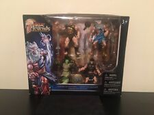 Brand New True Legends Heroes Of Olympus 4 Figures Toys R US Exclusive!