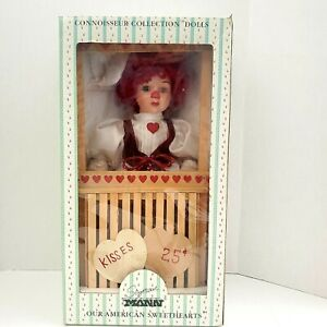Girl Clown Doll Red Hair from A Connoisseur Collection by Seymour Mann SJ-2512
