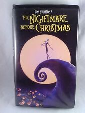 TIM BURTON The Nightmare Before Christmas VHS Halloween Musical The Pumpkin King