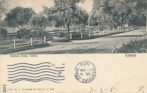 SALINA KS – Oakdale Park – udb – 1905