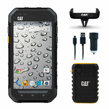Caterpillar Cat S30 Waterproof unlocked 8GB Smartphone Battery Mount & Charger