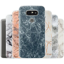 Dessana Marble Pattern TPU Silicone Protective Cover Phone Case Cover For LG