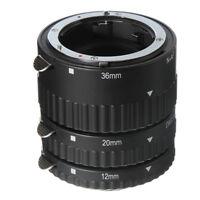 Auto Focus Macro Extension Tube Ring Set 12+20+36mm Fr Nikon AF DSLR Camera Lens
