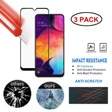 3Pack 9D Tempered Glass Screen Protector Film For Samsung A50 A30 A10 M10 J5 J7