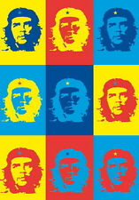 "CHE GUEVARA FLAGGE / FAHNE ""ANDY WARHOL"" POSTERFLAGGE POSTER FLAG"