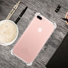 Ultra Clear Heavy Duty Shockproof Slim Soft Case Cover For Apple iPhone 8 Plus