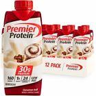 Premier Protein Shake, Cinnamon Roll, 30g Protein, 11 Fl Oz, 12 Ct FREE SHIPPING