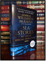 Sea Stories ✎SIGNED✎ by WILLIAM H. McRAVEN New Hardback 1st Edition First Print