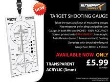 Snappy obiettivi-Target Shooting Gauge-air gun, Air fucile, pistola PELLET Drop,