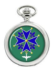 Huguenot Cross Christian Pocket Watch