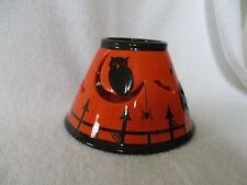 Bath & Body Works White Barn Halloween Candle Ceramic Lamp Shade Topper