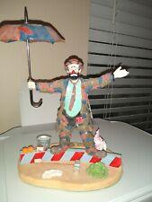 Emmett-Kelly-Jr High Wire Willie Figurine, Limited Edition #0442