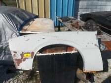 1970-1977 Ford Maverick Left Front Fender with W/W Moulding and Marker Light OE