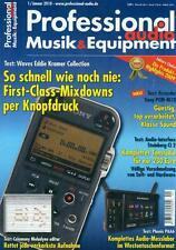 Professional Audio Musik & Equipment 2010/01