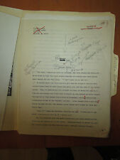 Michael Bishop SAVING FACE Original Science Fiction Story Typescript Manuscript