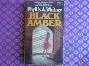 Black Amber by Phyllis A. Whitney gothic paperback romantic suspense
