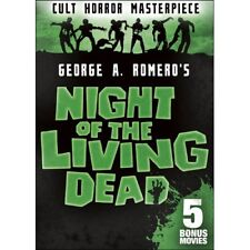 Night of the Living Dead: Includes 5 Bonus Movies (Dvd, 2017, 2-Disc Set)