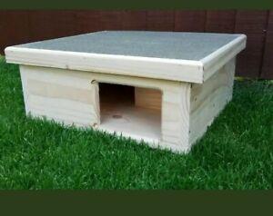 House Hedgehog Hedge Hog Hibernation Home Shelter FREE BEDDING