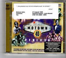 (HK362) Motown 40 Forever, 40 tracks various artists - 1998 double CD