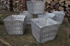 5 x Vorratsgefäße Vintage Alutöpfchen Quarktöpfchen Partydeko Nachhaltigkeit Box