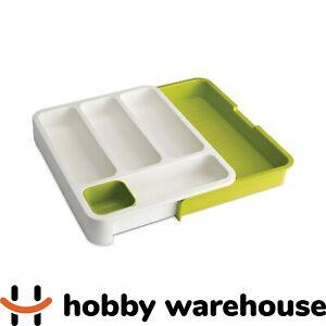 Joseph Joseph Drawer Store Cutlery Tray - White/Green
