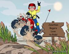 Small Personalized ATV Picture - Makes a great gift!