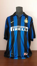 shirt maglia maillot nike internazionale fc milan 1998/99 camiseta trikot jersey