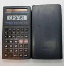 Casio Fx-260 Solar Scientific Calculator Fraction Tested Works Free Shipping