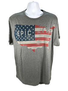 NEW American Eagle Men's Gray United States Graphic T-Shirt Sz XL