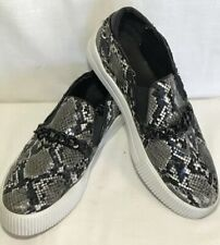 Pink Pop CHAINY Slip on Platform Fashion Sneakers Shoes US 8.5